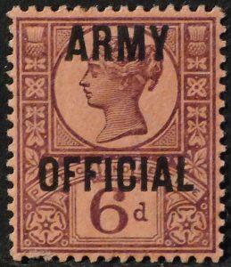 sgO45 6d Army Official - M/Mint