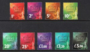 1994 Postage Dues 'To Pay' sgD102-D110 - U/M