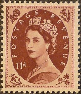 sg553 11d brown-purple (St Edward`s Crown) – U/M