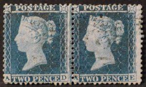 sg34 2d blue pair (AD-AE) plate 5