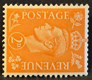 sg488a 2d pale orange (wmk sideways) - U/M