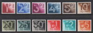 1982 Postage Dues D90-D101 - U/M