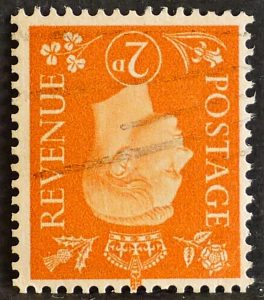 sg465wi 2d orange (wmk inverted) - Fine used