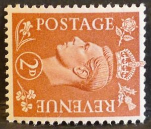 sg506a 2d pale red-brown (wmk sideways) – U/M