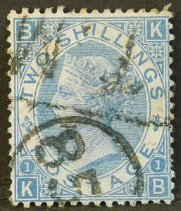 sg120 2s pale blue (K-B) - Fine used