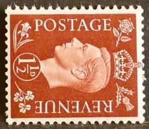 sg464a 1½d red-brown (wmk sideways) - U/M