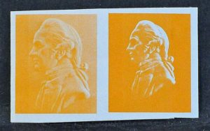 1968 De la Rue litho phosphor band trial