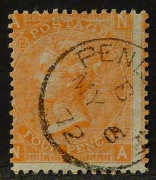 sg95 4d deep vermilion (N-A) Plate 12