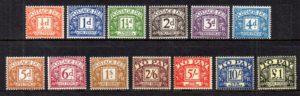 1959-63 Postage Dues D56/D68 - U/M
