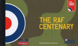 2018 RAF Centenary DY25 Prestige Stamp Book