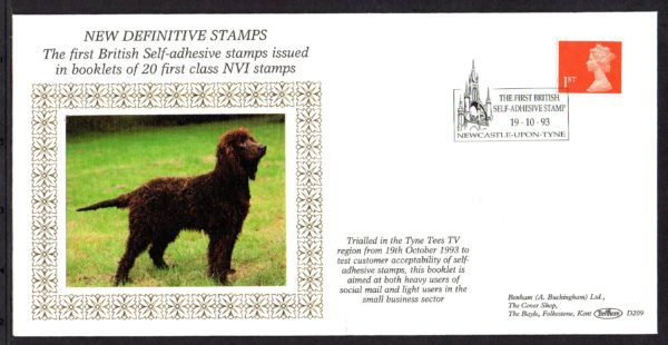 19-10-1993 New Definitive Stamps FDC