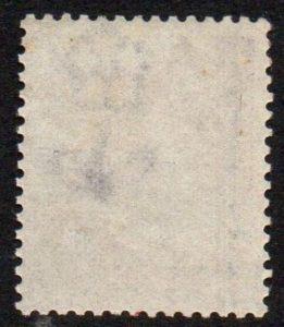 QV sg109 6d mauve (R-A) plate 9 - fine mint with part gum