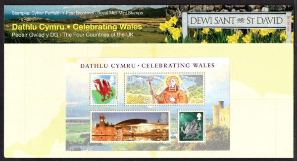 2009 Celebrating Wales Presentation Pack