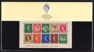 2002 Wilding Definitives Collection I Presentation Pack
