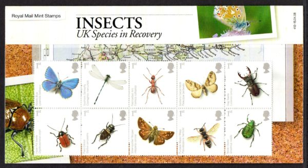 2008 Insects Presentation Pack