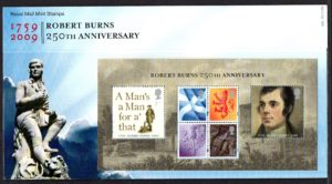 2009 Robert Burns Anniversary Presentation Pack