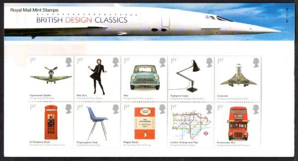 2009 British Design Classics Presentation Pack