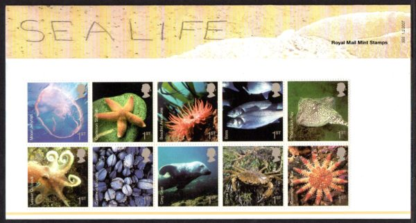 2007 Sea Life Presentation Pack