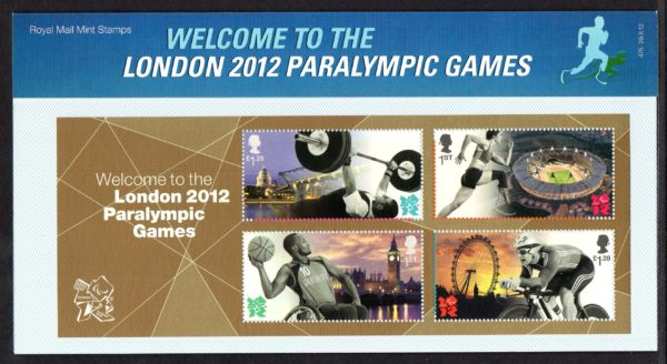 2012 London Paralympic Games Presentation Pack