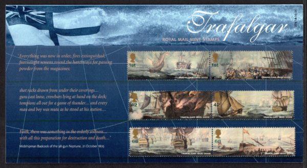 2005 Battle of Trafalgar Presentation Pack