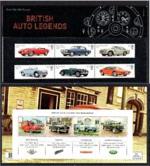 2013 British Auto Legends Presentation Pack