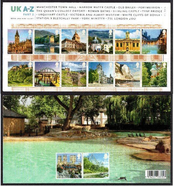 2012 UK A-Z Presentation Pack