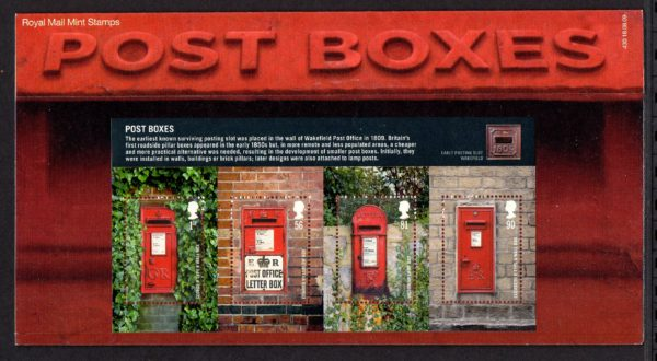 2009 Post Boxes MS2954 Presentation Pack