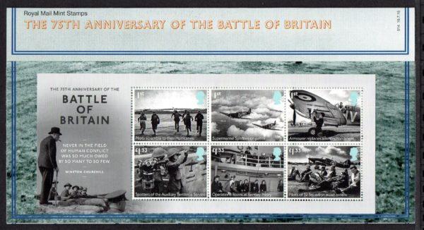 2015 Battle of Britain MS3735 Presentation Pack