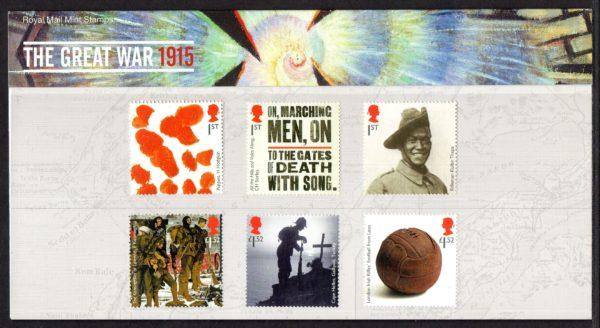 2015 Centenary of First World War Presentation Pack