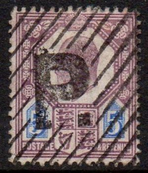 KEVII 5d with unusual visual franking