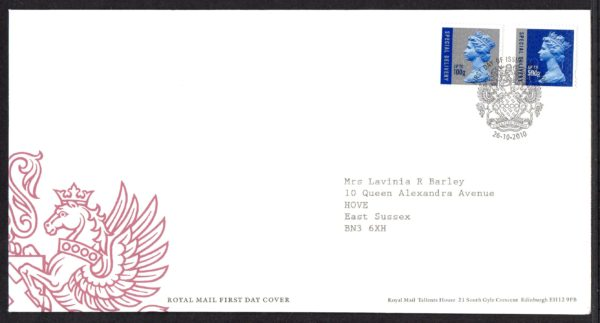 26-10-2010 Special Delivery FDC
