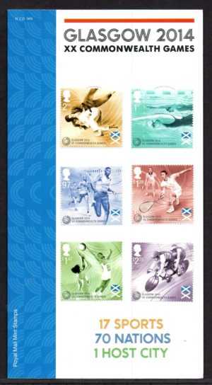 2014 Commonwealth Games Presentation Pack
