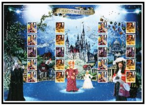 2008 Christmas Smiler sheet LS54