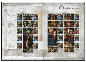 2009 Christmas Smiler sheet LS67