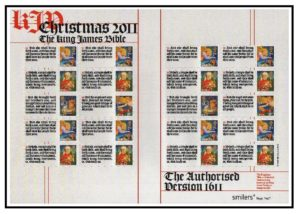 2011 King James Bible Smiler sheet LS79