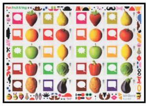 2006 Fruit & Veg Smiler sheet LS29
