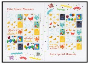 2006 Extra Special Moments Smiler sheet LS33