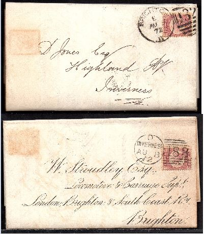 QV 1872 turned cover