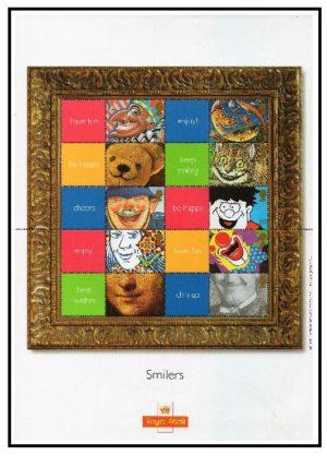 LS5 2001 'Smiles' Smiler sheet